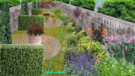 plan de jardin 233 troit cr 233 er un jardin en longueur
