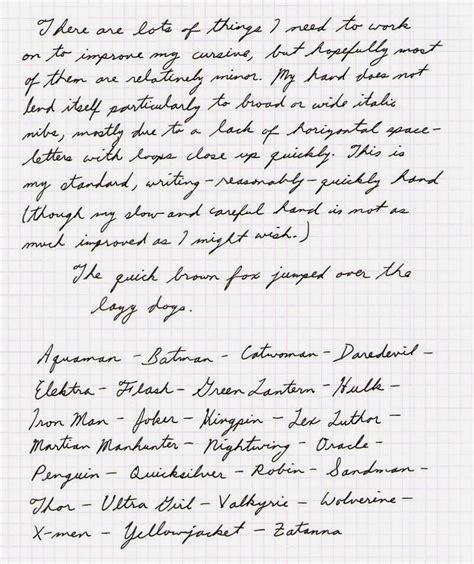 Alphabet Cursive Handwriting  Hand Writing