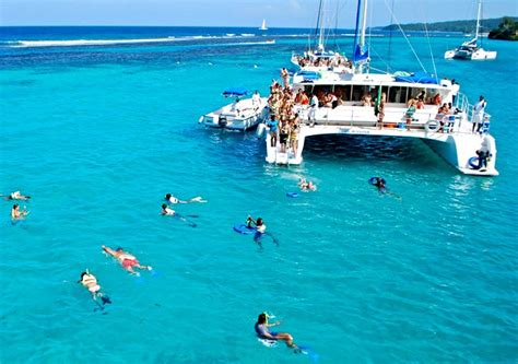 Catamaran Snorkeling Montego Bay Jamaica cool runnings catamaran cruise to dunn s river falls