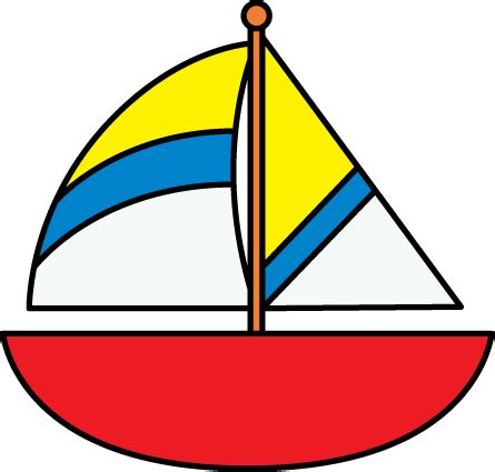 Sailboats Cartoon by Sailboat Clip Art Sailboat Images