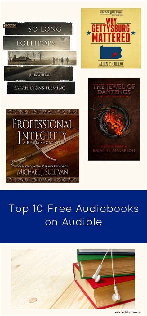 Top 10 Free Audiobooks On Audible Tectogizmo