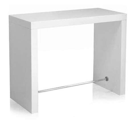 table haute blanc laqu 233 table haute blanc laqu sur enperdresonlapin