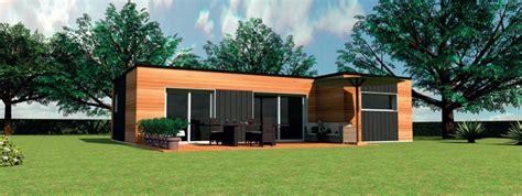 cuisine maison noa modele de maison bois contemporaine de plain pied cars modele maison bois