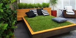 Alternative Zu Gras Garten : bett aus paletten und gras im garten anlegen freshouse ~ Markanthonyermac.com Haus und Dekorationen