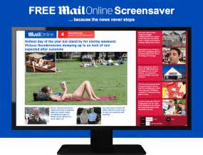 Free Daily Mail Online Screensaver   Daily Mail Online