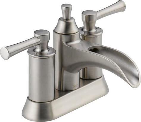 delta 174 dawson two handle centerset bathroom faucet at