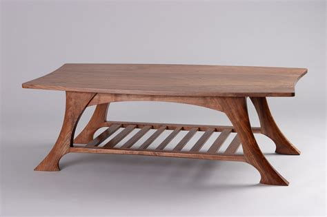 Casa Grande Coffee Table   Black Walnut Solid Wood   Seth Rolland