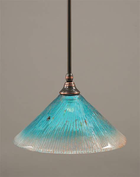 aqua glass pendant light pretty aqua pendant ronna