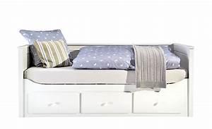 Tagesbett Holz Weiß : landhaus tagesbett 90x200 mit schubkasten wei merton ~ Markanthonyermac.com Haus und Dekorationen