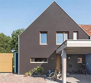 Fassadenfarben Am Haus Sehen : fassadenfarbe grau braun haus deko ideen ~ Markanthonyermac.com Haus und Dekorationen