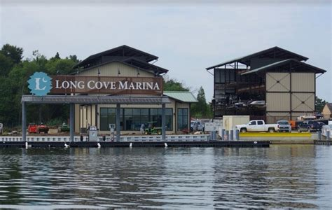Public Boat Rs At Cedar Creek Lake by Long Cove S New Marina And Boat Shop Second Shelters
