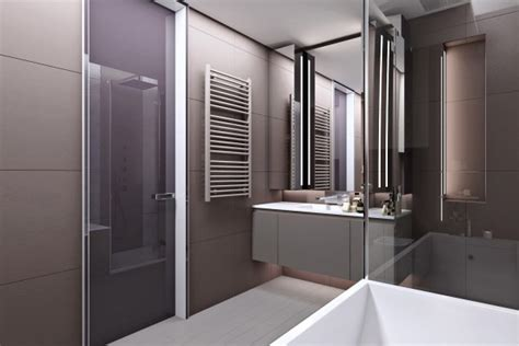 appartement luxueux avec une forte touche de bois