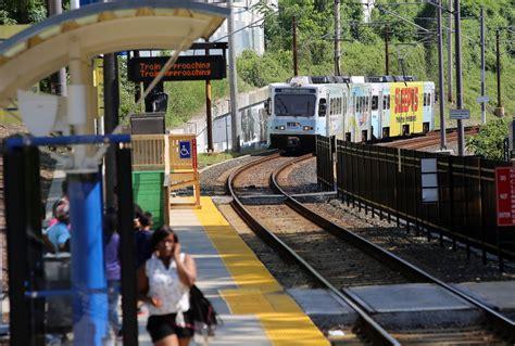 baltimore light rail stops three light rail stations reopen after a week despite