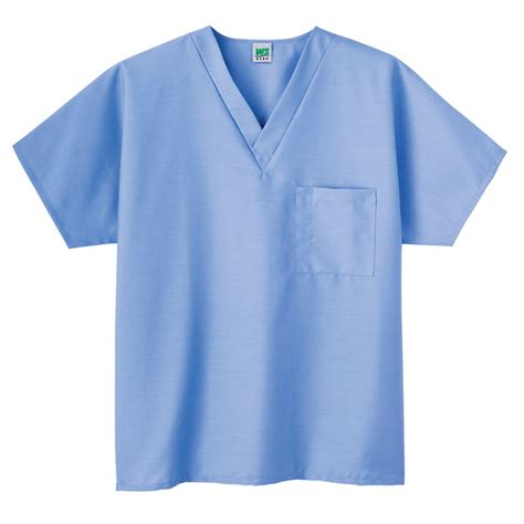 meta unisex scrub v neck top ceil light blue small from cole parmer canada