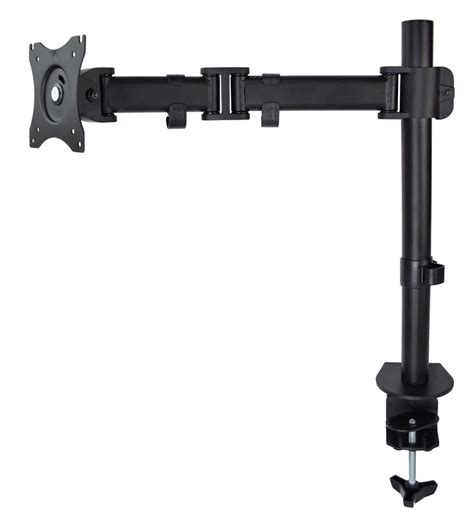 vivo single monitor arm fully adjustable desk mount stand