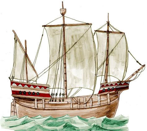 Medieval Boat Drawing by Late Medieval Ship By Kluwe On Deviantart