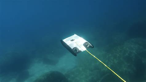 Under Boat Camera by Openrov Trident Underwater Drone Appears On Kickstarter