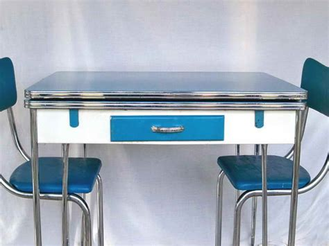 1950s Style Kitchen Table Classic Way American Standard Sinks Kitchen Sink Drainage Problems Hose Connection To Waste Pipe B&q Industrial Faucet Top Mounted Cabinet Drawer