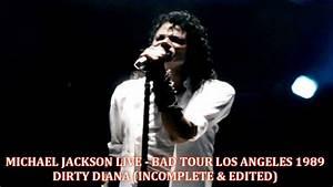 Michael Jackson - Bad Tour L.A. November 13th 1988 - Dirty ...