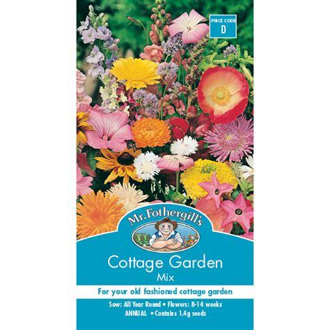 Mr Fothergill's Cottage Garden Mix Flower Seed Bunnings
