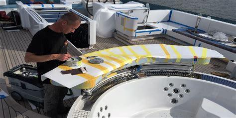 Polyester Boot Reparatie by Reparatie Polyester Schade Boot