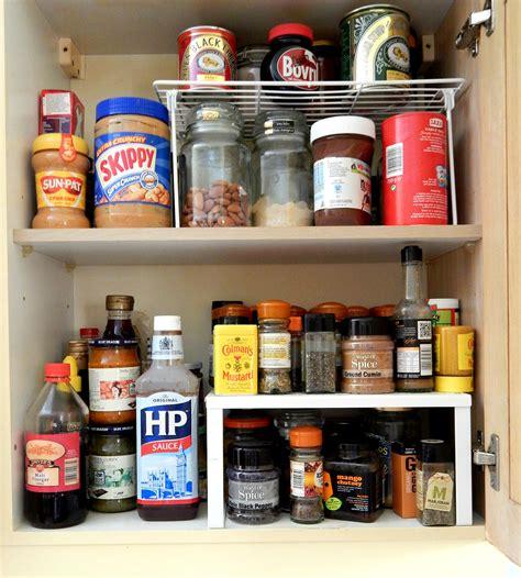Kitchen Cabinets Organizers Uk by Kitchen Storage Solutions Cupboard Organizer Raised