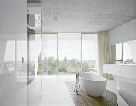 White Modern Bathroom Design  Interior Design Ideas