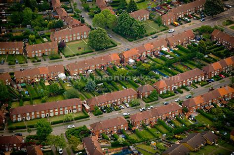 Your S House Garden City aerial view houses welwyn garden city hertfordshire