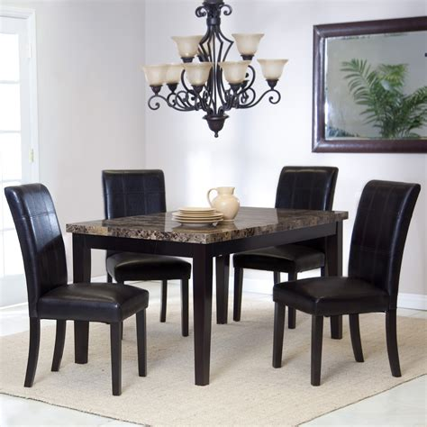 Wonderful Furniture  5 Piece Kitchen Table Sets With
