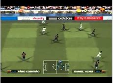 PES 2013 PS2 Gameplay real madrid x barcelona YouTube
