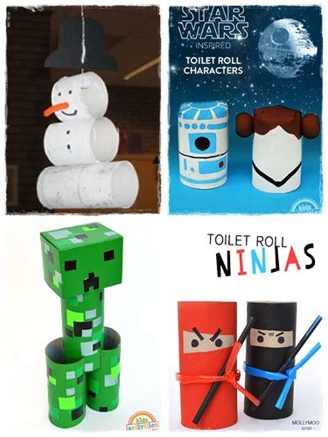 60 bricolages avec des rouleaux de papier toilette la cour des petits