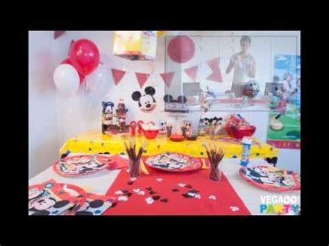 table anniversaire mickey vegaooparty