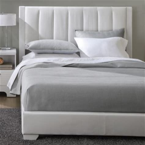 ridley contemporary bed ensemble sears sears canada includes upholstered headboard