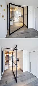 Treppen Fliesen Holzoptik : treppen sind holzfarbig der boden ist laminatt aber grau t ren pinterest haus t ren ~ Markanthonyermac.com Haus und Dekorationen