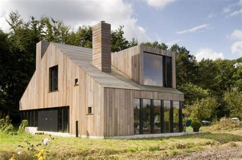 the chimney house maison design en bois