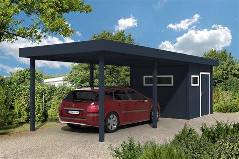 Carport Flachdach 300 X 400 Cm
