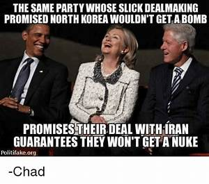 The SAME PARTY WHOSE SLICK DEALMAKING PROMISED NORTH KOREA ...