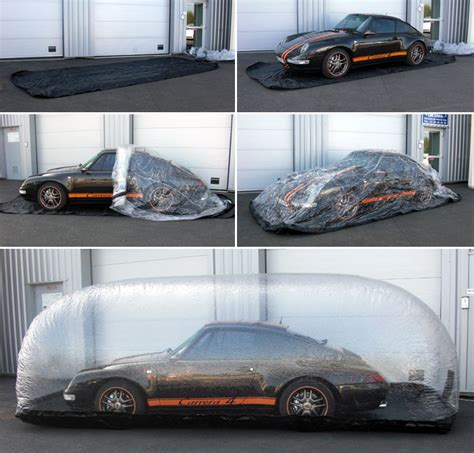 housse bache gonflable protection air car cover car cover