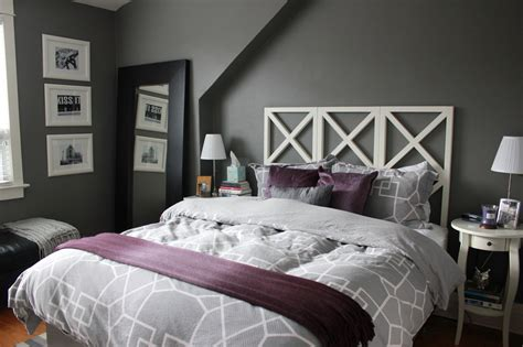 Purple And Grey Bedroom Ideas Images