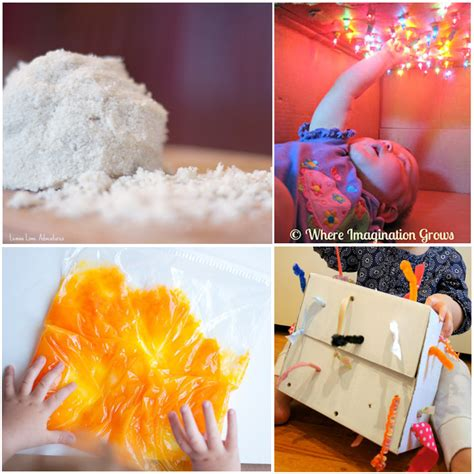 15 Sensory Play Ideas For Babies  I Heart Arts N Crafts