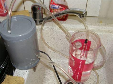 fabriquer un filtre exterieur pour petit aquarium
