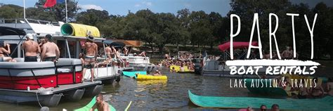 Private Boat Rental Austin by 3 Amigos Boat Rentals Austin Texas