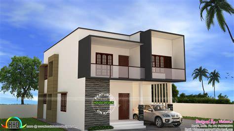 Simple Modern House By Vishnu S  Home Design Decor