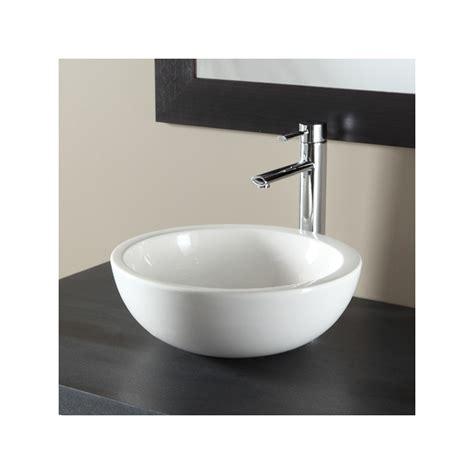vasque a poser bol vasques salle de bains porcelaine blanche