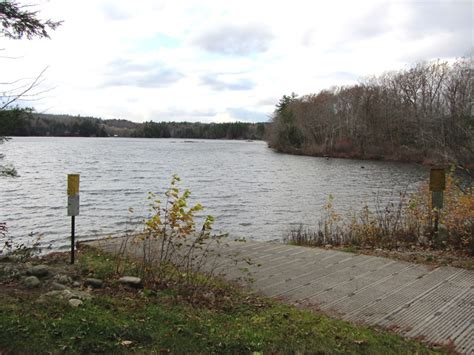 Round Pond Boat Launch by Livermore Maine An Encyclopedia
