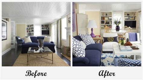 living room makeovers before and after 1223 home and