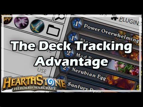 hearthstone the deck tracking advantage