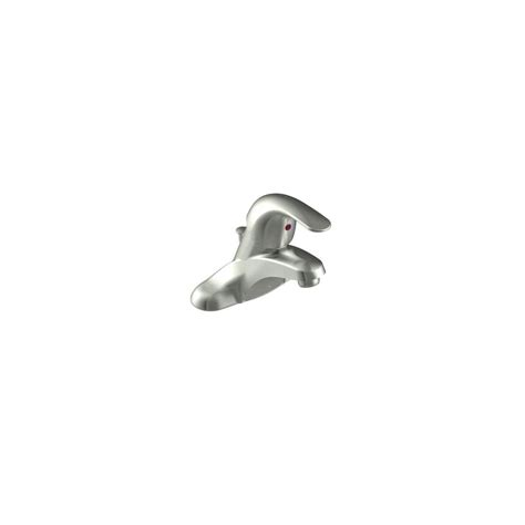 faucet in brushed nickel by moen