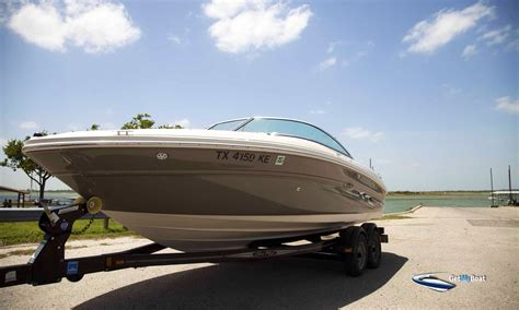 Sea Ray Boats Lewisville Tx by 21 Sea Ray Skiwakeboard Boat For Rent Near Lake