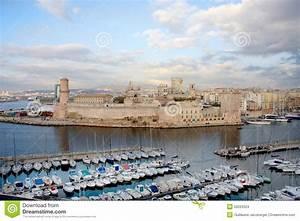 Marseille Harbor Stock Photo - Image: 50223324